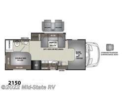 New 2018  Coachmen Prism 2150 by Coachmen from Mid-State RV Center in Byron, GA