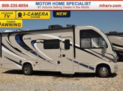 New 2017  Thor Motor Coach Axis 25.3 W/Slide, Upgraded A/C, IFS, Ext. TV by Thor Motor Coach from Motor Home Specialist in Alvarado, TX
