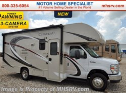 New 2017  Thor Motor Coach Chateau 22B Slide, 15.0K BTU A/C, 3 Cams, Pwr Awning by Thor Motor Coach from Motor Home Specialist in Alvarado, TX