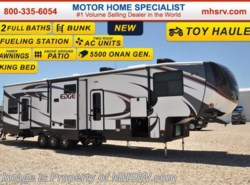 New 2017  Heartland RV Edge 399ED Toy Hauler, Bunk W/2 Baths by Heartland RV from Motor Home Specialist in Alvarado, TX