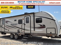 New 2017  Cruiser RV Radiance Touring 28BHSS Coach for Sale at MHSRV.com by Cruiser RV from Motor Home Specialist in Alvarado, TX