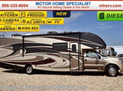 New 2017  Thor Motor Coach Four Winds Super C 35SM Super C W/Ext Kitchen & TV, King Bed & Res Fr by Thor Motor Coach from Motor Home Specialist in Alvarado, TX