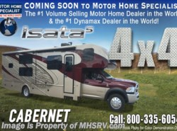 New 2018  Dynamax Corp Isata 5 Series 36DS 4x4 Super C RV for Sale W/8KW Gen & King by Dynamax Corp from Motor Home Specialist in Alvarado, TX