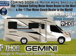 New 2017  Thor Motor Coach Gemini 24TX Diesel Sprinter RV for Sale at MHSRV 2 Slides by Thor Motor Coach from Motor Home Specialist in Alvarado, TX