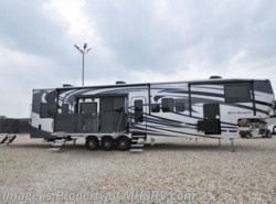 New 2017  Heartland RV Road Warrior RW427 W/Full Paint, Dual Pane, 3 A/C, Arctic, 5 TV by Heartland RV from Motor Home Specialist in Alvarado, TX