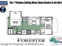 New 2018  Forest River Forester LE C 2251S RV for Sale at MHSRV.com W/15K BTU A/C by Forest River from Motor Home Specialist in Alvarado, TX