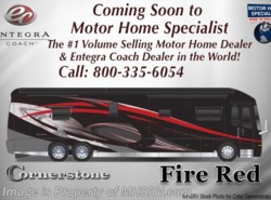 New 2018  Entegra Coach Cornerstone 45W Bath & 1/2 RV for Sale at  W/Upgraded Interior by Entegra Coach from Motor Home Specialist in Alvarado, TX