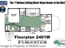 New 2018  Forest River Forester MBS 2401R Sprinter Diesel RV for Sale W/Theater Se by Forest River from Motor Home Specialist in Alvarado, TX