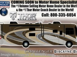 New 2018  Thor Motor Coach Challenger 37YT Coach for Sale at MHSRV.com W/King Bed by Thor Motor Coach from Motor Home Specialist in Alvarado, TX