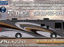 New 2017  Thor Motor Coach Palazzo 36.3 Bath & 1/2 Diesel Pusher for Sale W/King, W/D by Thor Motor Coach from Motor Home Specialist in Alvarado, TX