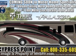 New 2019  Thor Motor Coach Palazzo 36.1 Bath & 1/2 Diesel Pusher W/Wi-Fi, W/D, 340HP by Thor Motor Coach from Motor Home Specialist in Alvarado, TX