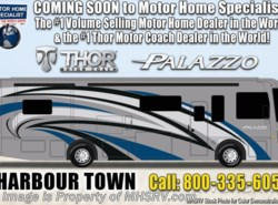 New 2019  Thor Motor Coach Palazzo 36.1 Bath & 1/2 Diesel Pusher for Sale W/340HP by Thor Motor Coach from Motor Home Specialist in Alvarado, TX