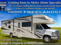 New 2018  Coachmen Freelander  31BH Bunk Model W/Swivel Seat, 15K A/C, Air Assist by Coachmen from Motor Home Specialist in Alvarado, TX