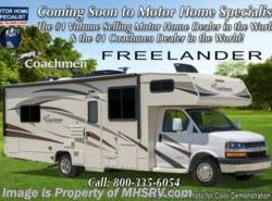 New 2018  Coachmen Freelander  28BH Salon Bunk Modell W/15K A/C, Air Assist by Coachmen from Motor Home Specialist in Alvarado, TX