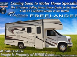 New 2018  Coachmen Freelander  21RSC RV for Sale at MHSRV W/Ext. Kitchen & TV by Coachmen from Motor Home Specialist in Alvarado, TX