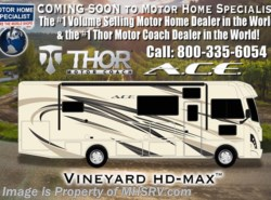 New 2018  Thor Motor Coach A.C.E. 30.4 ACE RV for Sale W/5.5KW Gen, 2 A/Cs & Ext. TV by Thor Motor Coach from Motor Home Specialist in Alvarado, TX