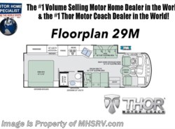 New 2018  Thor Motor Coach Hurricane 29M RV for Sale @ MHSRV W/Dual A/C, 5.5 Gen, King by Thor Motor Coach from Motor Home Specialist in Alvarado, TX
