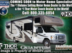 New 2018  Thor Motor Coach Quantum WS31 for Sale MHSRV.com W/Front Entertainment by Thor Motor Coach from Motor Home Specialist in Alvarado, TX