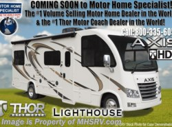 New 2018  Thor Motor Coach Axis 25.3 RUV for Sale at MHSRV.com W/OH Loft, IFS by Thor Motor Coach from Motor Home Specialist in Alvarado, TX
