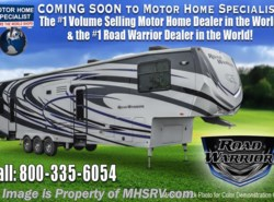 New 2018  Heartland RV Road Warrior RW427 Dual Pane, Arctic, 5 TVs, 3 A/C, King by Heartland RV from Motor Home Specialist in Alvarado, TX