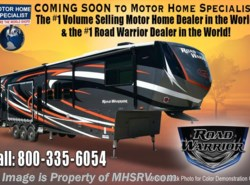 New 2017  Heartland RV Road Warrior RW427 Dual Pane, King, 5 TV, 3 A/Cs, Arctic by Heartland RV from Motor Home Specialist in Alvarado, TX