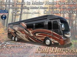 New 2017  American Coach American Revolution 42S Bath & 1/2 Luxury RV W/Ultra & Tile Shower by American Coach from Motor Home Specialist in Alvarado, TX