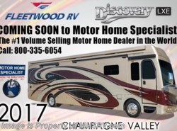 New 2017  Fleetwood Discovery LXE 40G Bunk House RV for Sale at MHSRV W/Sat by Fleetwood from Motor Home Specialist in Alvarado, TX
