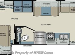 New 2018  Forest River Legacy 360RB-340 Bath & 1/2 RV for Sale at MHSRV.com by Forest River from Motor Home Specialist in Alvarado, TX