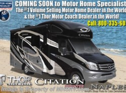 New 2018  Thor Motor Coach Chateau Citation Sprinter 24SR RV for Sale @ MHSRV W/Summit Pkg & Dsl. Gen by Thor Motor Coach from Motor Home Specialist in Alvarado, TX