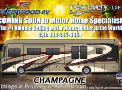 New 2018  Fleetwood Discovery LXE 40E Bath & 1/2 RV for Sale at MHSRV W/Sat, King by Fleetwood from Motor Home Specialist in Alvarado, TX