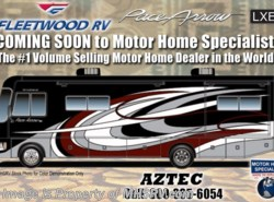 New 2018  Fleetwood Pace Arrow LXE 38B Bunk Model RV for Sale at MHSRV W/King, Sat by Fleetwood from Motor Home Specialist in Alvarado, TX
