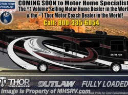 New 2019  Thor Motor Coach Outlaw 37RB Toy Hauler for Sale @ MHSRV Garage Sofas by Thor Motor Coach from Motor Home Specialist in Alvarado, TX
