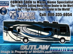 New 2018 Thor Motor Coach Outlaw 37RB Toy Hauler RV for Sale @ MHSRV Garage Sofas available in Alvarado, Texas