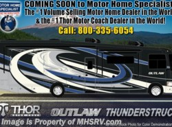 New 2019  Thor Motor Coach Outlaw 37RB Toy Hauler RV for Sale @ MHSRV Garage Sofas by Thor Motor Coach from Motor Home Specialist in Alvarado, TX