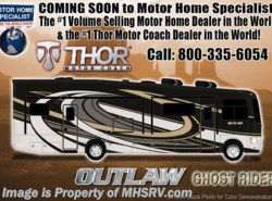 New 2018  Thor Motor Coach Outlaw 37RB Toy Hauler RV for Sale @ MHSRV Garage Sofa by Thor Motor Coach from Motor Home Specialist in Alvarado, TX