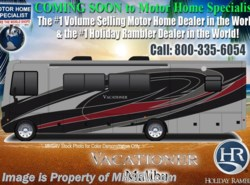 New 2018  Holiday Rambler Vacationer 35K Bath & 1/2 RV for Sale W/Sat, W/D, LX Pkg by Holiday Rambler from Motor Home Specialist in Alvarado, TX