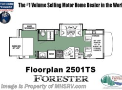 New 2018  Forest River Forester 2501TSF RV for Sale @ MHSRV W/15K BTU A/C, Jacks by Forest River from Motor Home Specialist in Alvarado, TX