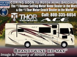 New 2018  Thor Motor Coach A.C.E. 30.3 RV for Sale @ MHSRV W/5.5KW Gen, 2 A/C by Thor Motor Coach from Motor Home Specialist in Alvarado, TX