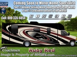New 2018  Coachmen Concord 300DSC for Sale at MHSRV W/Rims, Sat, Jacks, Nav by Coachmen from Motor Home Specialist in Alvarado, TX