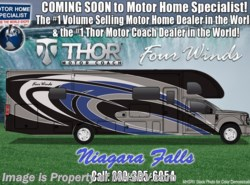 New 2018  Thor Motor Coach Four Winds Super C 35SF Bath & 1/2 Super C W/ Entertainment Center by Thor Motor Coach from Motor Home Specialist in Alvarado, TX