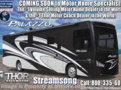 New 2018  Thor Motor Coach Palazzo 36.3 Bath & 1/2 Diesel Pusher W/D & Theater Seats by Thor Motor Coach from Motor Home Specialist in Alvarado, TX