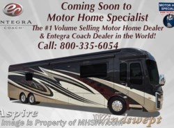 New 2018  Entegra Coach Aspire 44W Bath & 1/2 Luxury RV at MHSRV W/Theater Seats by Entegra Coach from Motor Home Specialist in Alvarado, TX