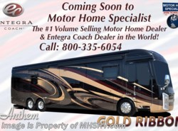 New 2018  Entegra Coach Anthem 44A Bath & 1/2 Luxury RV W/ Theater Seats, Solar by Entegra Coach from Motor Home Specialist in Alvarado, TX
