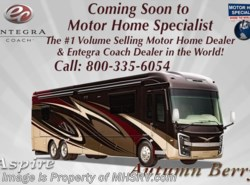 New 2018  Entegra Coach Aspire 44R Bath & 1/2, Bunk Model RV W/Theater Seats by Entegra Coach from Motor Home Specialist in Alvarado, TX
