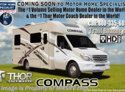 New 2018  Thor Motor Coach Compass 23TR Diesel RV for Sale @ MHSRV.com W/ Ext. TV by Thor Motor Coach from Motor Home Specialist in Alvarado, TX
