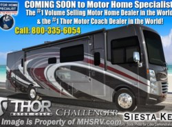 New 2019 Thor Motor Coach Challenger 37YT RV for Sale @ MHSRV.com W/ King Bed available in Alvarado, Texas
