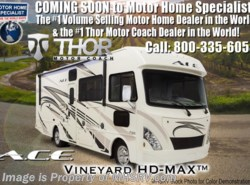 New 2018  Thor Motor Coach A.C.E. 29.3 ACE RV for Sale W/5.5 Gen, 2 A/C & Ext TV by Thor Motor Coach from Motor Home Specialist in Alvarado, TX