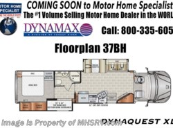 New 2018  Dynamax Corp Dynaquest XL 37BH 450HP, Cab Over, Bunk, Theater Seat by Dynamax Corp from Motor Home Specialist in Alvarado, TX