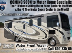 New 2018  Thor Motor Coach Windsport 29M RV for Sale at MHSRV Dual A/C, 5.5KW Gen, King by Thor Motor Coach from Motor Home Specialist in Alvarado, TX