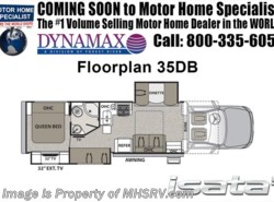 New 2018  Dynamax Corp Isata 5 Series 35DB Super C Bunk House RV W/ Sat, 8KW Gen by Dynamax Corp from Motor Home Specialist in Alvarado, TX